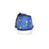 Modré detské prezuvky s futbalistami bata, modrá, 279-9129 - 15