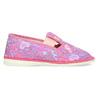 Detské ružové prezuvky so vzorom bata, ružová, 379-5218 - 19