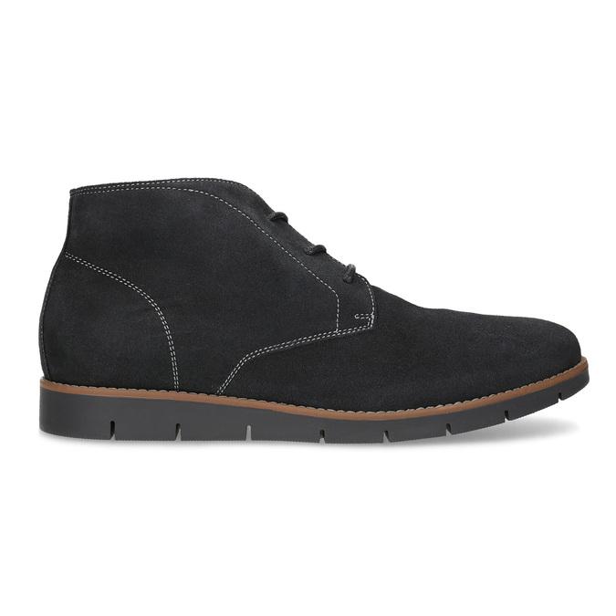 Pánska členková modrá kožená obuv flexible, modrá, 823-2632 - 19