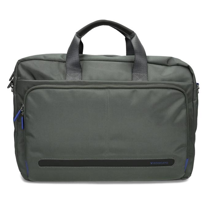 Šedá pracovná taška na notebook roncato, šedá, 969-2739 - 26