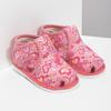 Ružové členkové prezuvky so vzorom bata, ružová, 179-5212 - 26