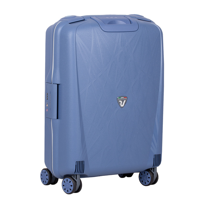 Palubná modrá batožina na kolieskach roncato, modrá, 960-9731 - 13