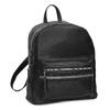 Čierny dámsky batoh s kamienkami bata, čierna, 961-6867 - 13