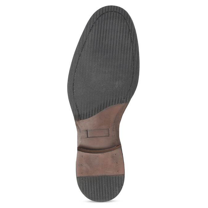 Pánske čierne Chelsea kožené bata, čierna, 826-6504 - 18