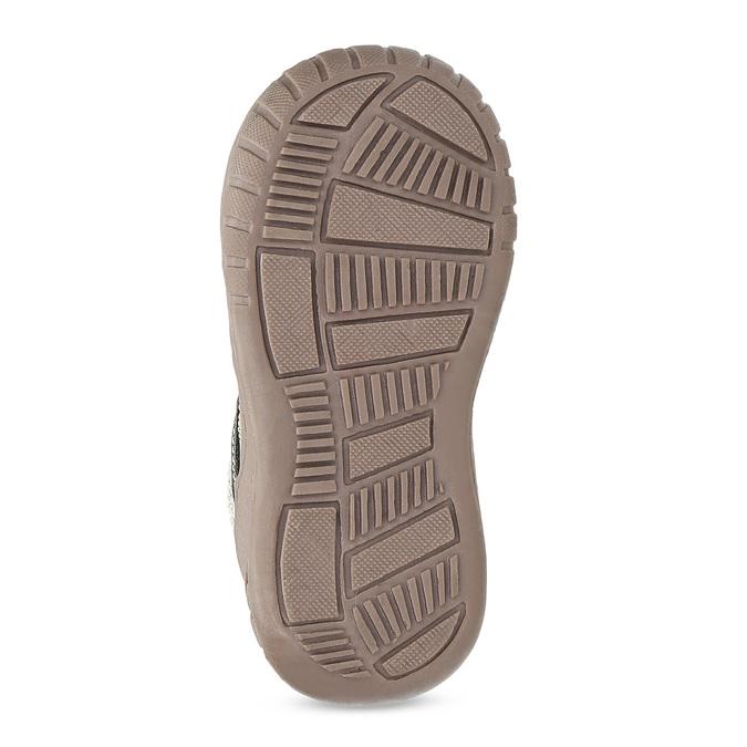 Detská členková obuv s teplou podšívkou bubblegummers, šedá, 111-2627 - 18
