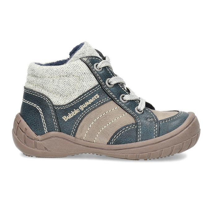 Detská členková obuv s teplou podšívkou bubblegummers, šedá, 111-2627 - 19