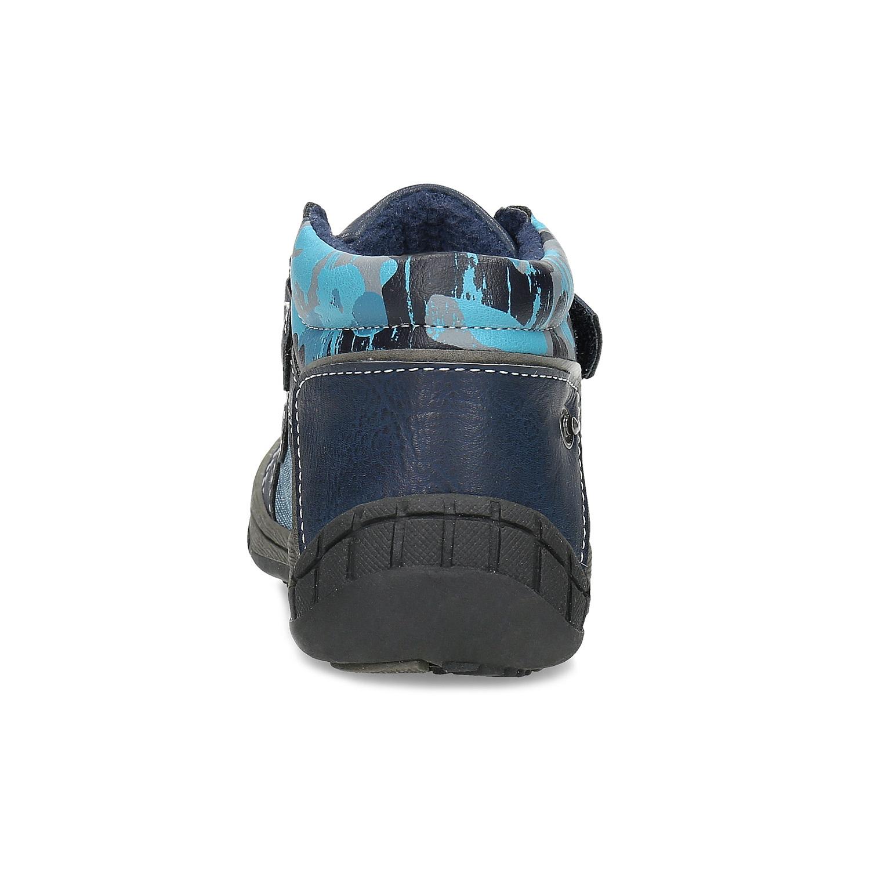 30c9009960c1f ... Detské modré členkové topánky na suché zipsy bubblegummers, modrá,  111-9628 - 15 ...