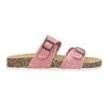Dámske ružové korkové papuče bata, ružová, 579-5625 - 19