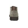 Kožená pánska členková obuv s prešitím bata, šedá, 843-2640 - 15