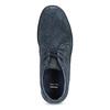 Modrá kožená pánska členková obuv bata, modrá, 843-9640 - 17