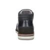 Modrá pánska kožená členková obuv bata, modrá, 826-9912 - 15