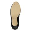Kožené členkové čižmy s kovovou prackou bata, čierna, 794-6655 - 18