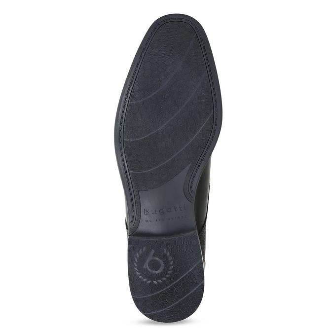Čierne členkové poltopánky bugatti, čierna, 826-6052 - 18