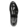Pánske kožené Monk shoes čierne bata, čierna, 824-6632 - 17