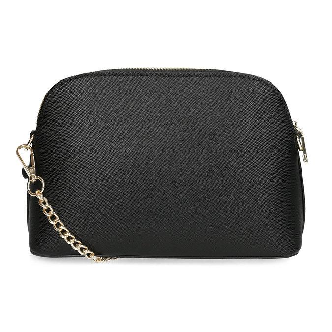 Čierna Crossbody kabelka s retiazkou bata, čierna, 961-6925 - 16