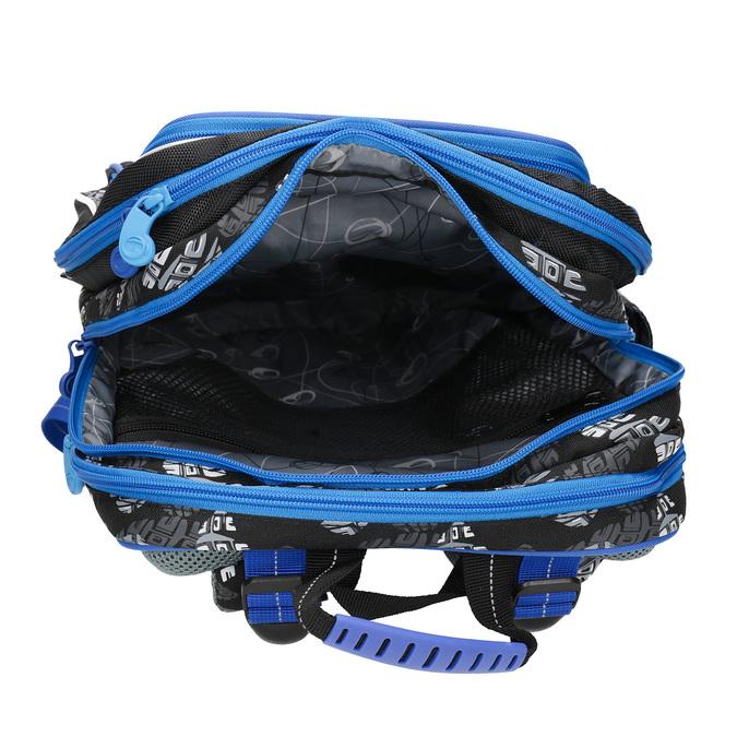 Školský batoh s autom bagmaster, modrá, 969-9713 - 15