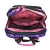 Školská aktovka s potlačou koní bagmaster, ružová, 969-9726 - 15