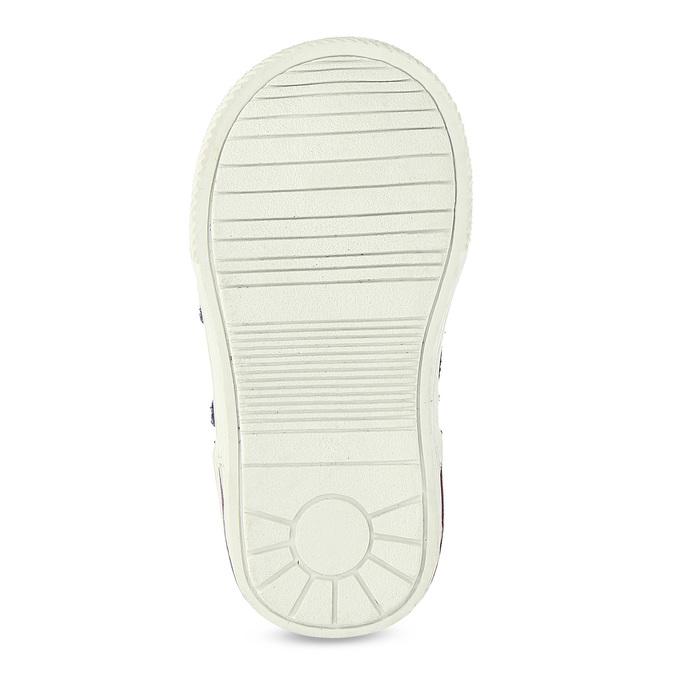 Členkové detské topánky s teplou podšívkou bubblegummers, fialová, 123-5610 - 18