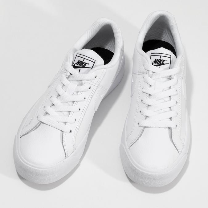 Dámske tenisky biele nike, biela, 501-1153 - 16