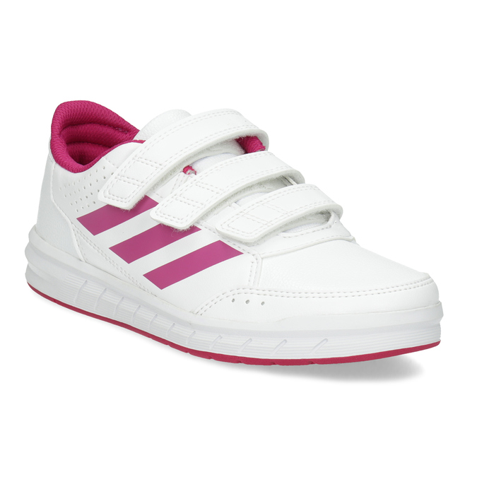 b480c0f8ab Adidas Dievčenské bielo-ružové tenisky - Všetky dievčenské topánky ...