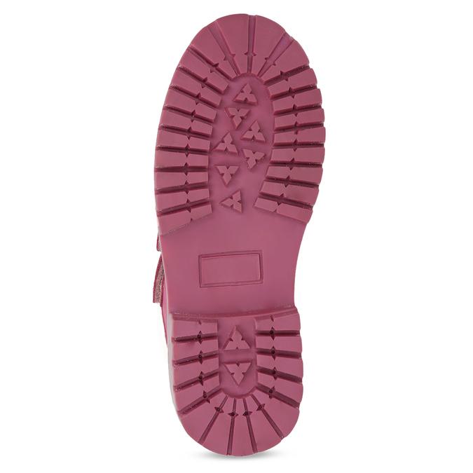 Ružová kožená detská členková obuv weinbrenner, ružová, 226-5201 - 18