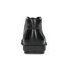 Členková čierna kožená pánska obuv flexible, čierna, 894-6704 - 15