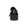 Pánske kožené Monk Shoes poltopánky bata, čierna, 824-6613 - 15