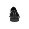 Pánske čierne kožené Derby poltopánky bata, čierna, 824-6891 - 15