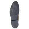 Pánska kožená obuv v štýle Chelsea bata, hnedá, 826-3865 - 18