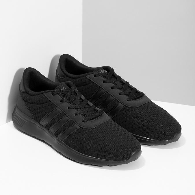 Pánske športové tenisky čierne adidas, čierna, 809-6198 - 26