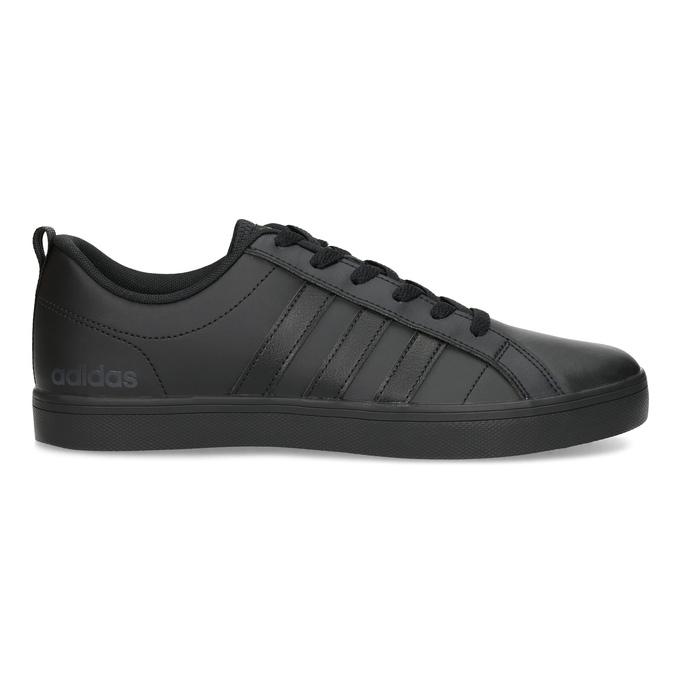 Čierne pánske tenisky s rovnou podrážkou adidas, čierna, 801-6236 - 19