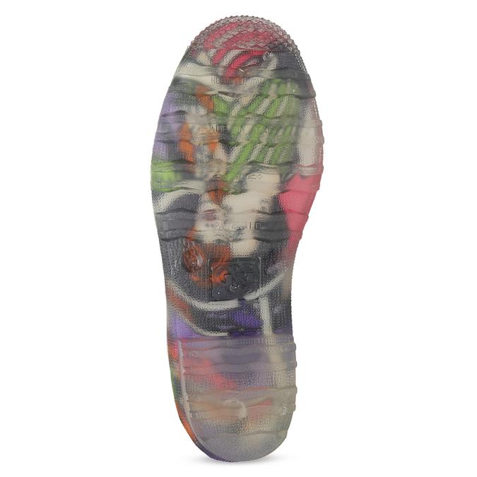 Dámske komixové gumáky bata, viacfarebné, 592-0606 - 18