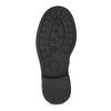Detské čierne čižmy s mašľou mini-b, čierna, 291-6132 - 18