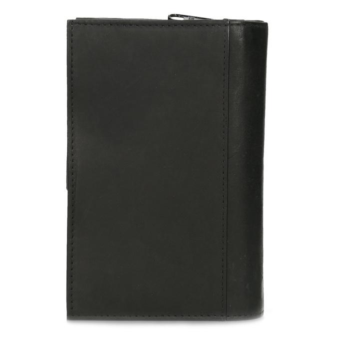 Dámska kožená peňaženka bata, čierna, 944-6155 - 16