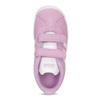 Ružové kožené detské tenisky adidas, ružová, 103-5203 - 17