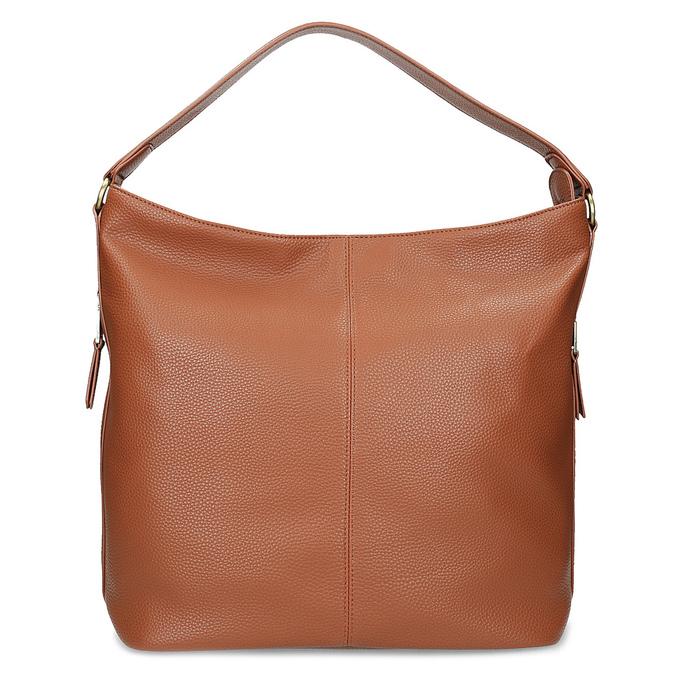 Hnedá Hobo kabelka s prešitím bata, hnedá, 961-4921 - 16