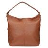 Hnedá Hobo kabelka s prešitím bata, hnedá, 961-4921 - 26