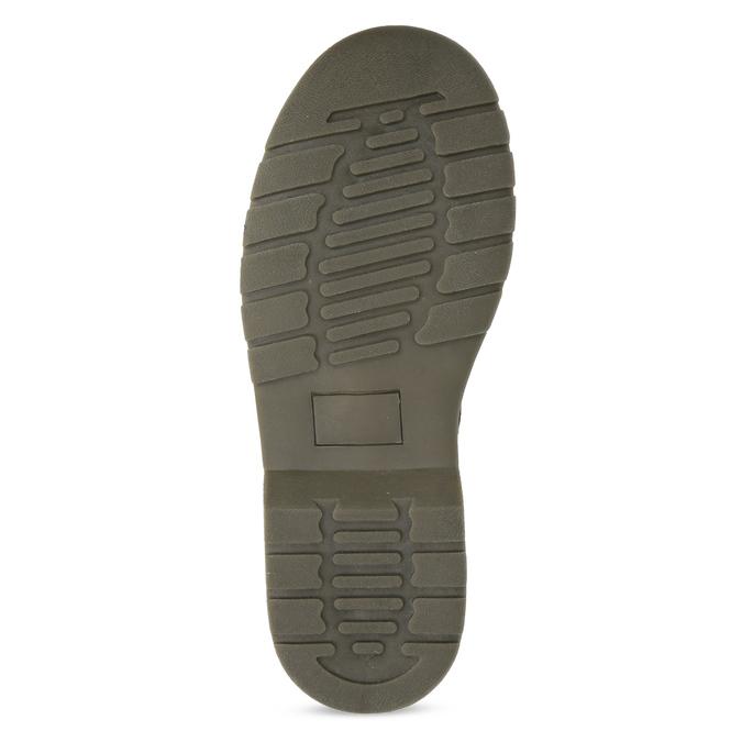 Dievčenská čierna lesklá členková obuv mini-b, čierna, 391-6259 - 18
