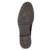 Vínová kožená členková obuv gabor, červená, 623-5029 - 18