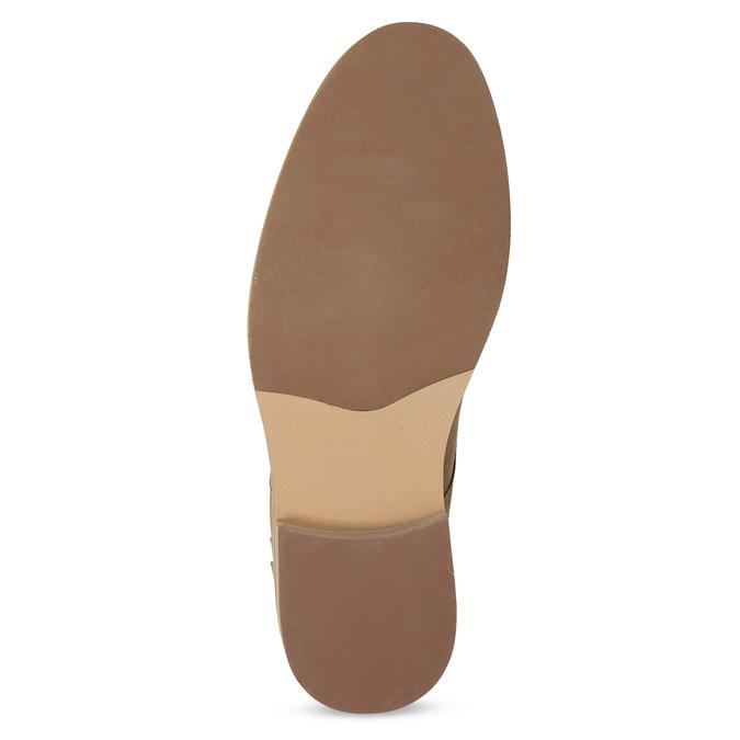 Pánska hnedá členková obuv bata-red-label, hnedá, 821-4608 - 18