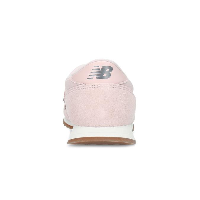 Ružové dámske tenisky z brúsenej kože new-balance, ružová, 503-5172 - 15