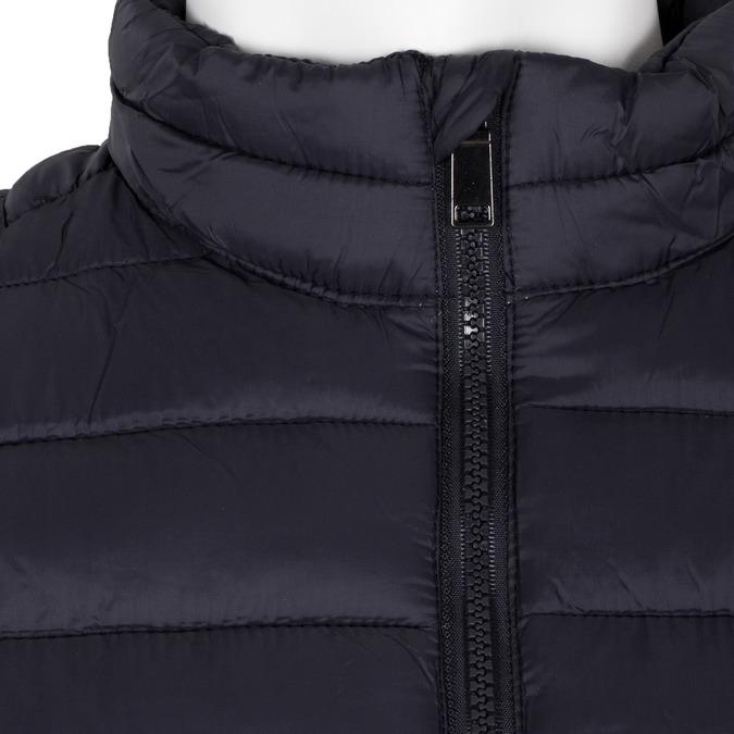 Pánska prešívaná bunda tmavomodrá bata, modrá, 979-9369 - 16