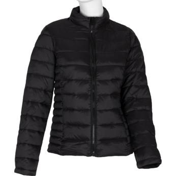 Dámska prešívaná bunda čierna bata, čierna, 979-6361 - 13