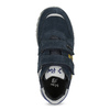 Modré detské tenisky na suché zipsy mini-b, modrá, 413-9606 - 17