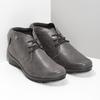 Dámska kožená členková obuv comfit, hnedá, 596-4707 - 26