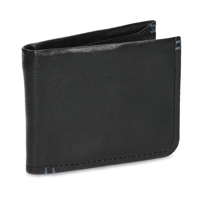 Kožená čiernw pánska peňaženka bata, čierna, 944-6214 - 13