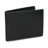Kožená peňaženka s modrým prešitím bata, čierna, 944-6218 - 13