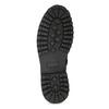 Zimná vysoká kožená členková obuv bata, šedá, 896-2737 - 18