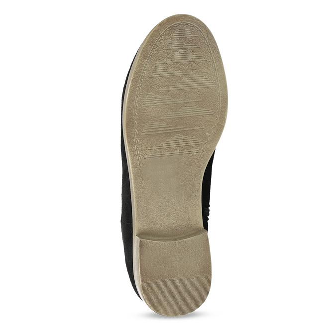 Dámské členkové čižmy bata, čierna, 599-6614 - 18