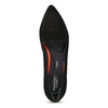 Kožené dámske Loafers s perforáciou rockport, čierna, 513-6036 - 17